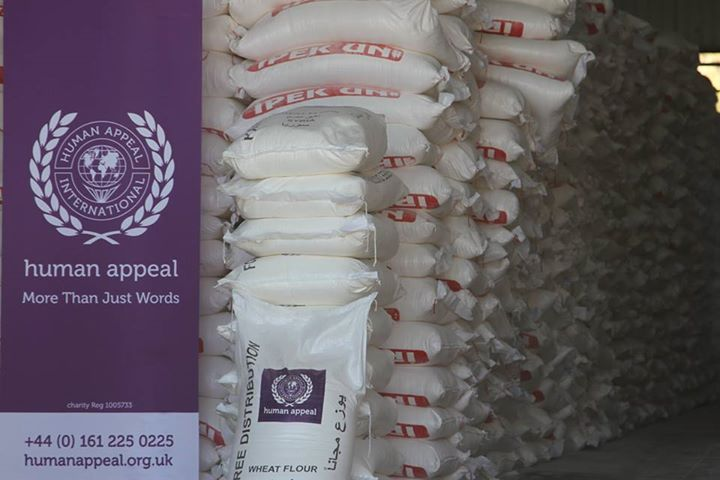 Providing 2000 tons of flour to Northern Syria