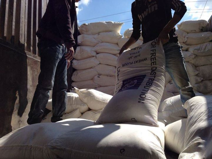 Providing 50 tons of flour to support a bakery in rural Idleb