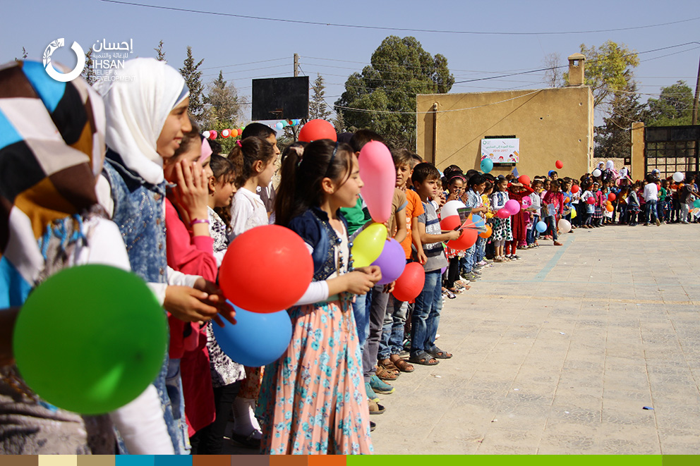 Schools receive their students in the new academic year 2017/2018