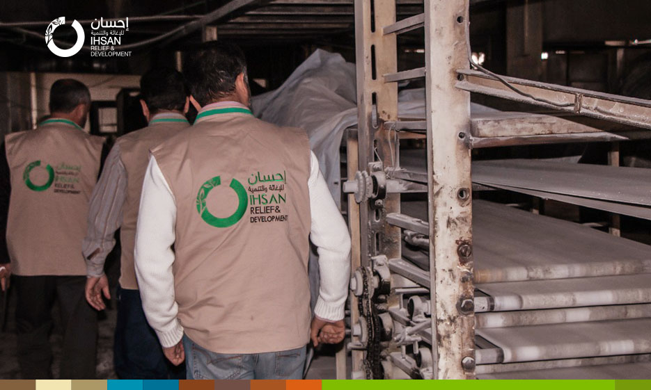 Rehabilitation project of central bakery serving 60,000 people in the southern countryside of Idlib