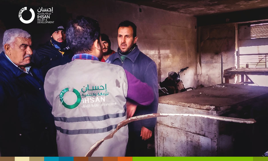250 families in northern Homs countryside receive support within Cash for Work project