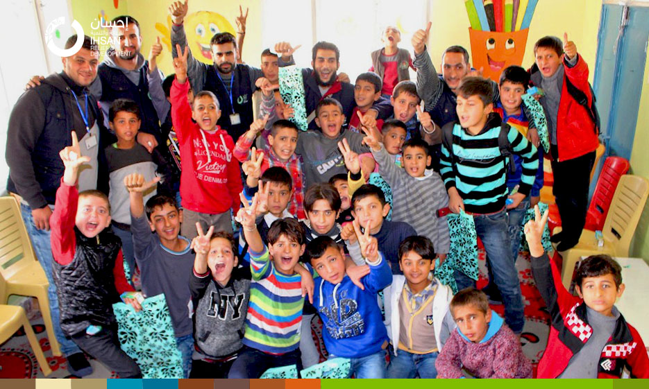 Child Friendly Space supported by IhsanRD in Jarablus ends its second session with the participation of 590 children