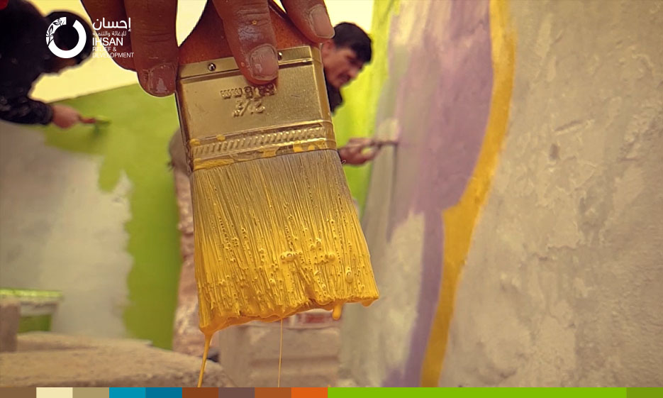 Mohammed's passion for color turns into a source of income – Youth Support Center