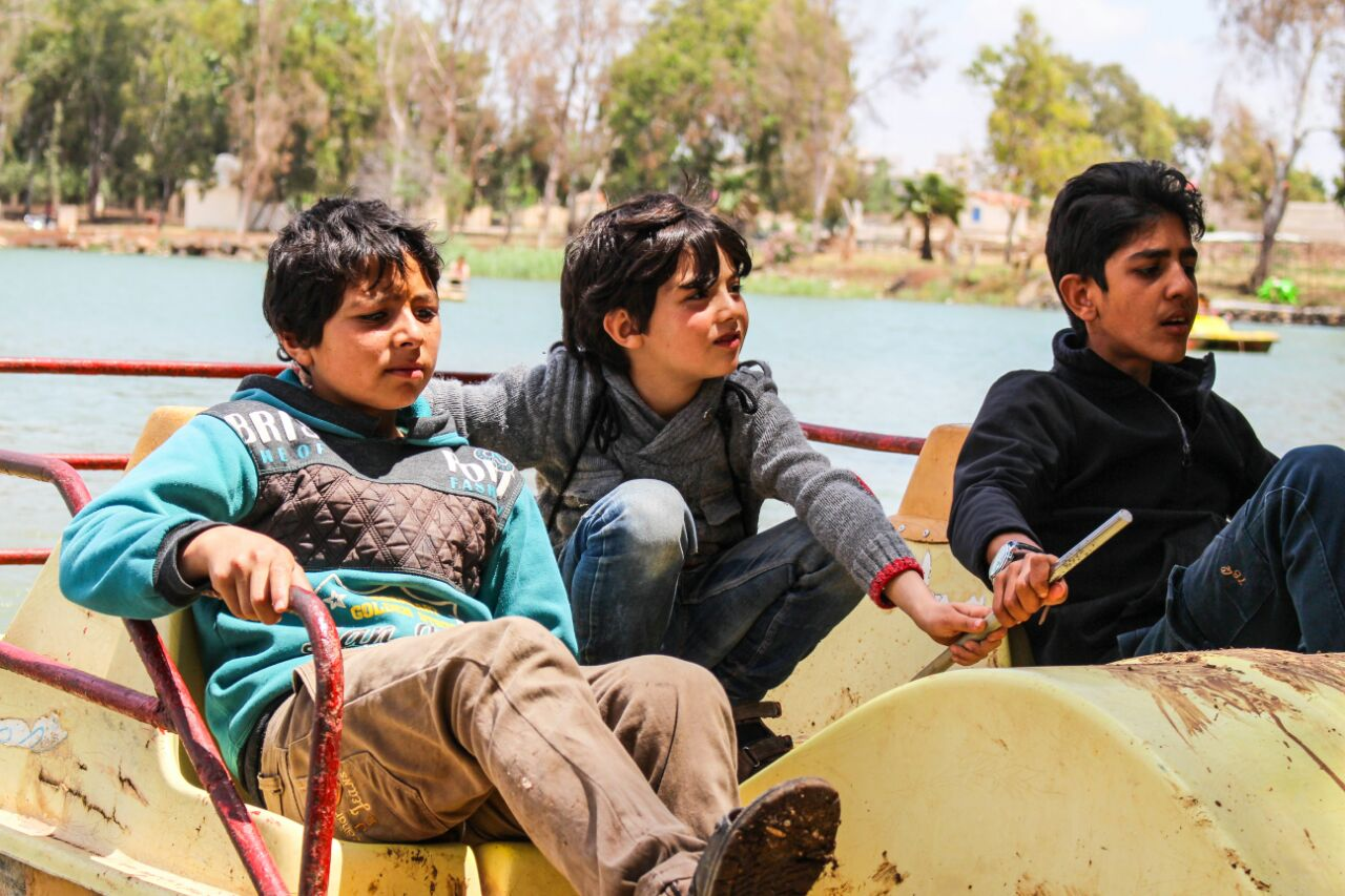 Students' trip in Daraa Governorate