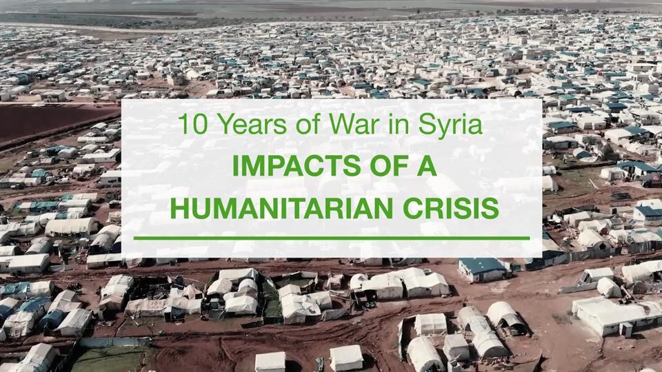 10 سنوات من الحرب في سوريا