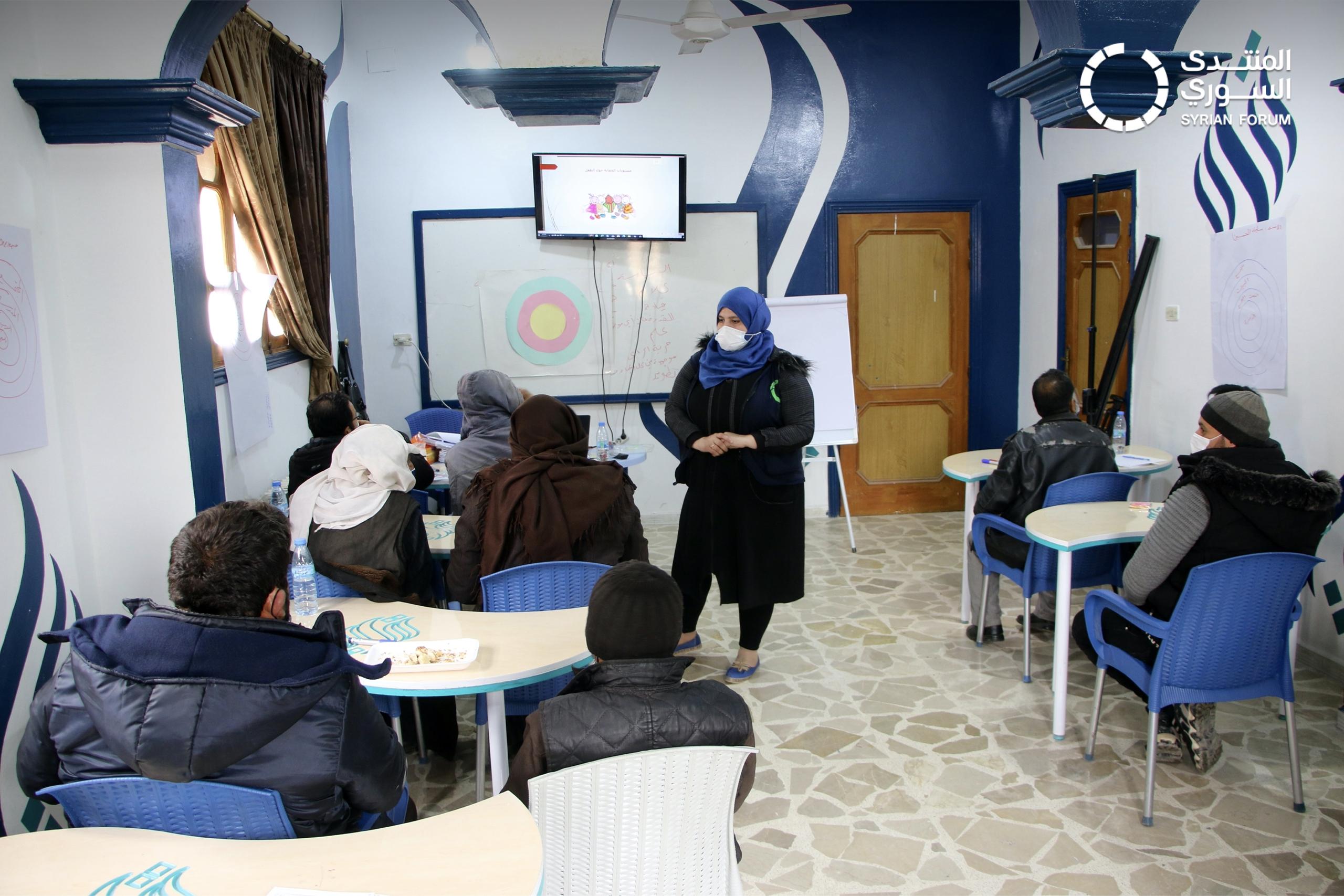 (العربية) المراكز المجتمعية ودورها في تمكين أهالي الشمال السوري