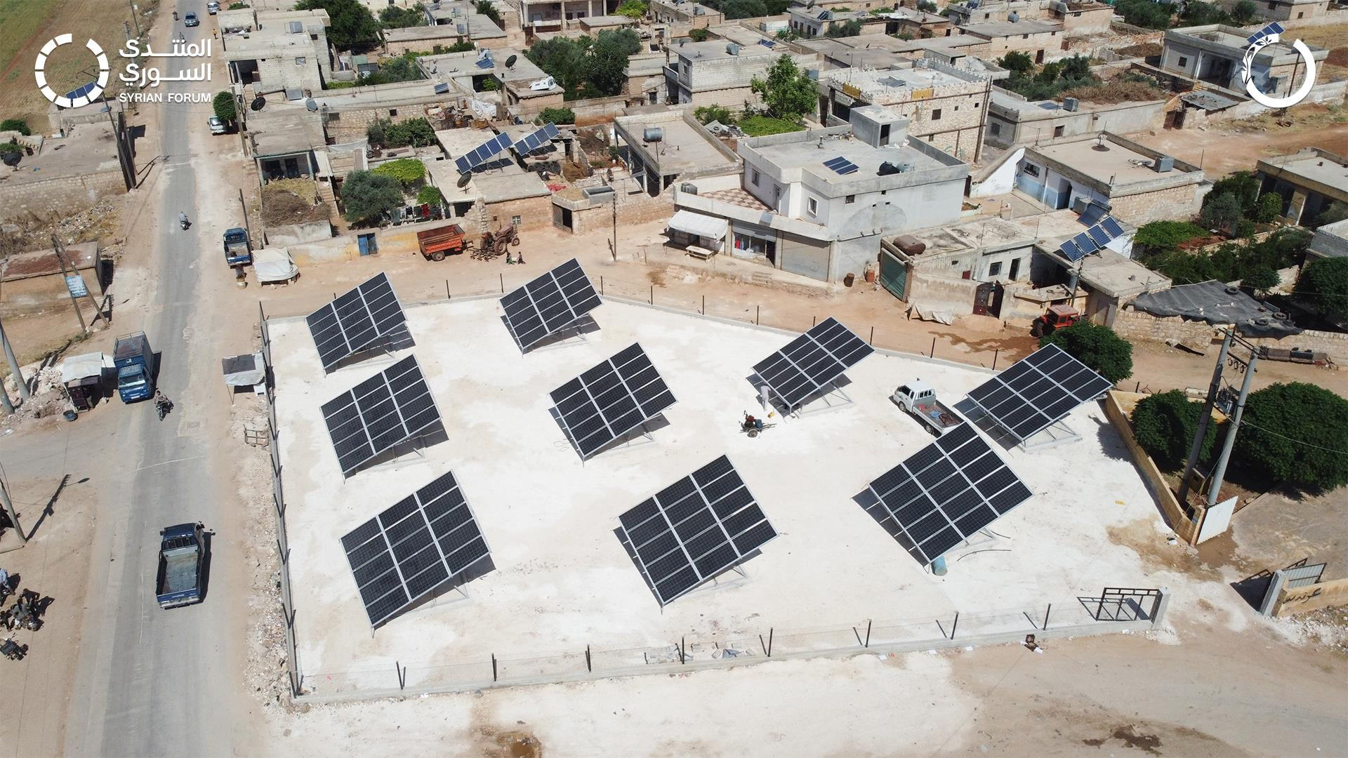 إعادة تأهيل النظام المائي في بلدة كفر ناصح
